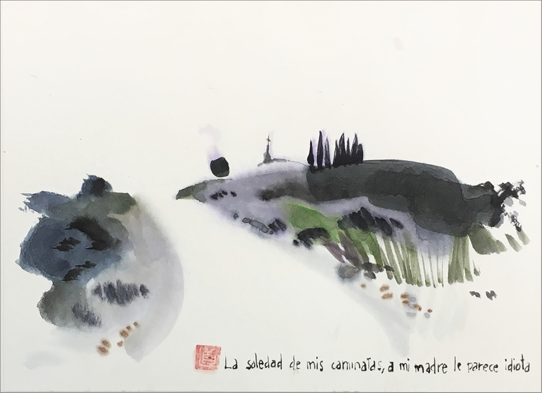«Monlora», exposición de Cano en Los portadores de sueños