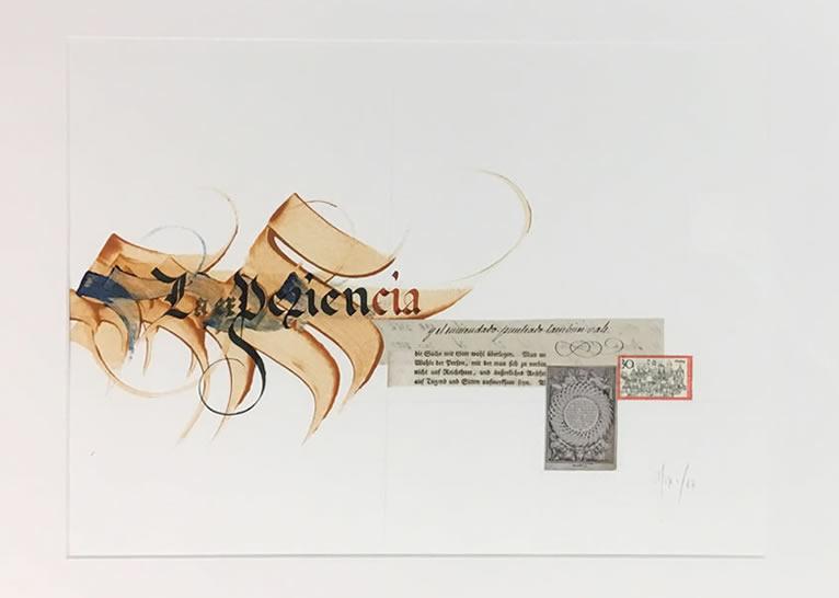 «Obra Caligráfica. 2016-2018», exposición de Diego Navarro en Los portadores de sueños