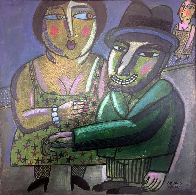 «Señoras, sombreros», exposición de Antonio Santos.