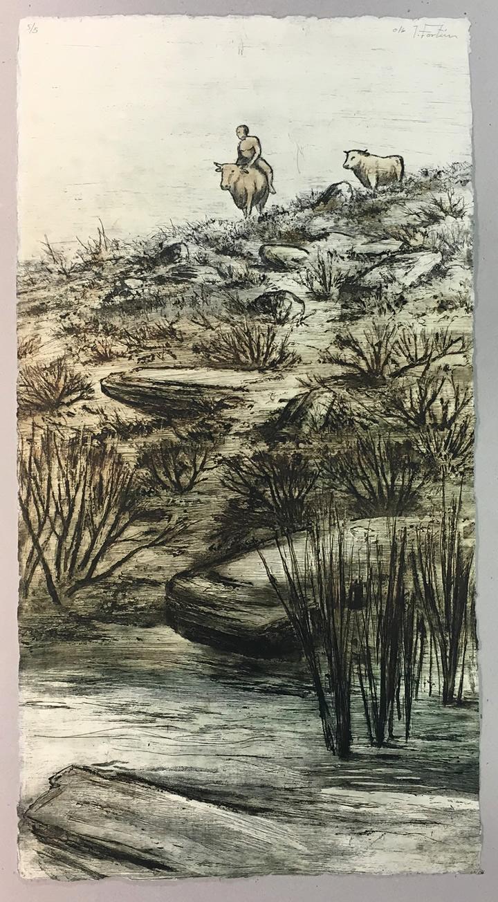 «Un viaje», exposición de Ignacio Fortún en Los portadores de sueños