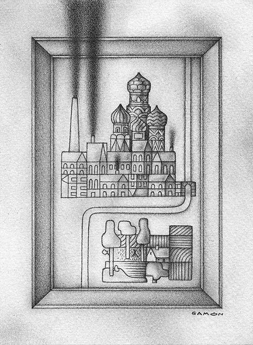«Las almas muertas», exposición de Alberto Gamón en Los portadores de sueños