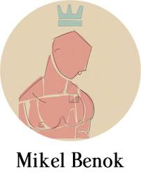 Obra de Mikel Benok a la venta en Los portadores de sueños