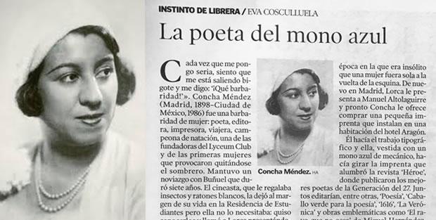 Concha Méndez: la poeta del mono azul - Los portadores de sueños